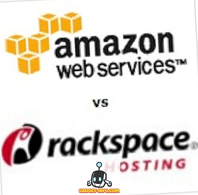 Amazon Web Service gegen Rackspace Cloud