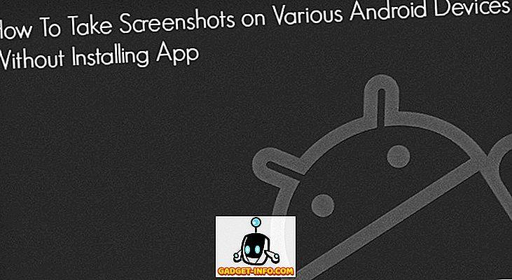 Kuidas võtta Screenshots Android nutitelefonides ilma rakendust installimata
