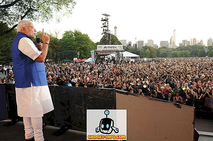 Bekijk de speech van Narendra Modi tijdens het Global Citizen Festival in New York (video)