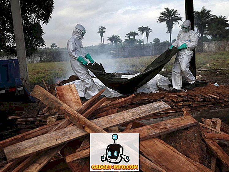O introspecție în ceea ce trece un pacient Ebola (imagini)