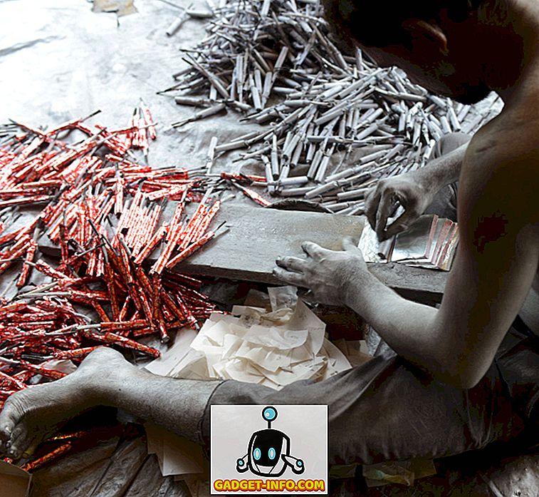 Aceste imagini de Making Firecracker va face să vă gândiți dacă să cumpărați Firecrackers sau nu acest Diwali