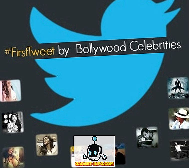 #FirstTweet av berømte Bollywood Celebrities