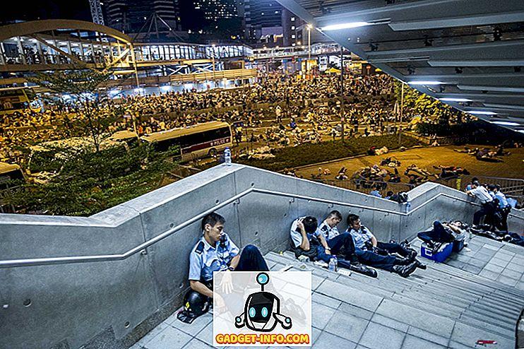 India ja maailm: 12 võimsat pilti, mis kirjeldavad Hongkongi Umbrella revolutsiooni