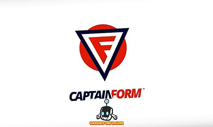 CaptainForm WordPress Eklenti İncelemesi: Tam Özellikli Formlar ve Anketler Oluşturun