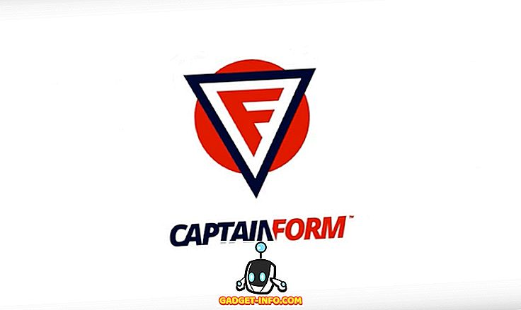 CaptainForm WordPressのプラグインのレビュー:完全に注目のフォームと調査を構築する