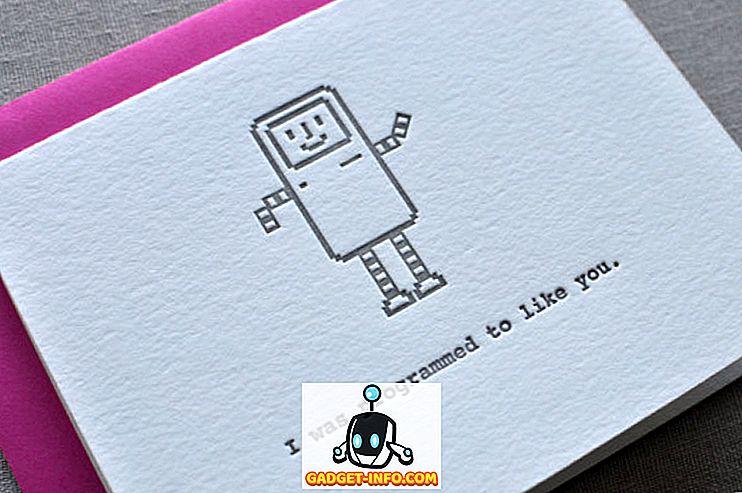 12 Awesome Geeky Valentinsdagkort