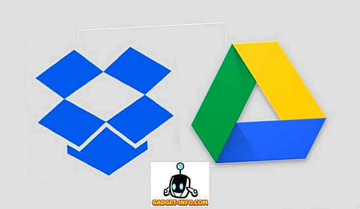 Google Drive Vs.  Dropbox: Hvilken du skal vælge?