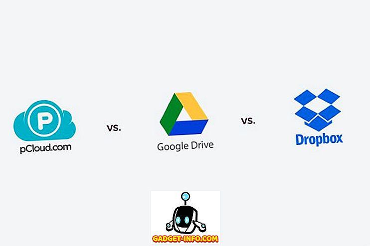 pCloud vs Google Drive vs DropBox: Slaget ved Cloud Storages
