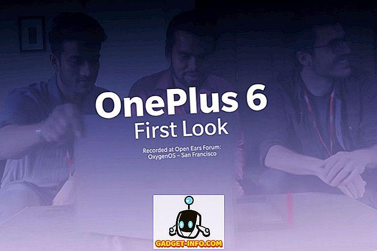 OnePlus avaldab spoilerivaba ventilaatorite video OnePlus 6 kontrollimise