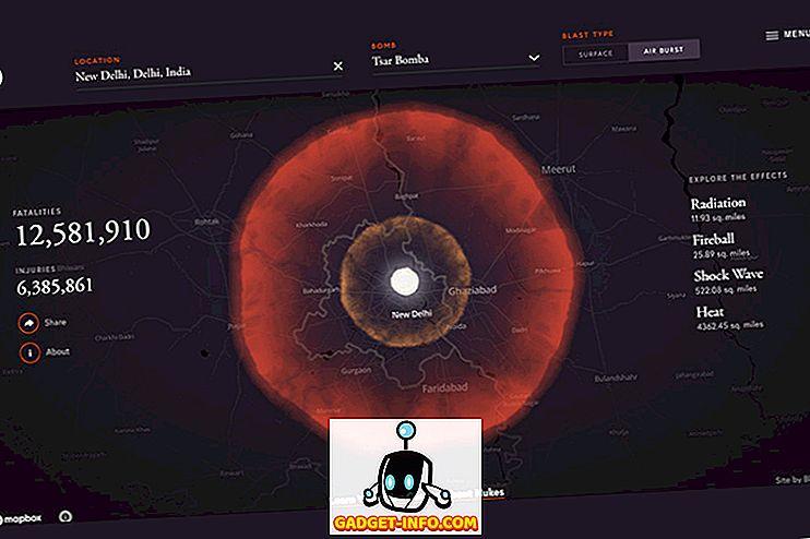 Этот онлайн симулятор позволяет вам обстреливать любое место на Земле, чтобы рассказать вам о ядерном оружии