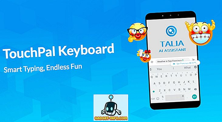 CooTek TouchPal billentyűzet: az egyik legokosabb billentyűzet-alkalmazás az Android számára
