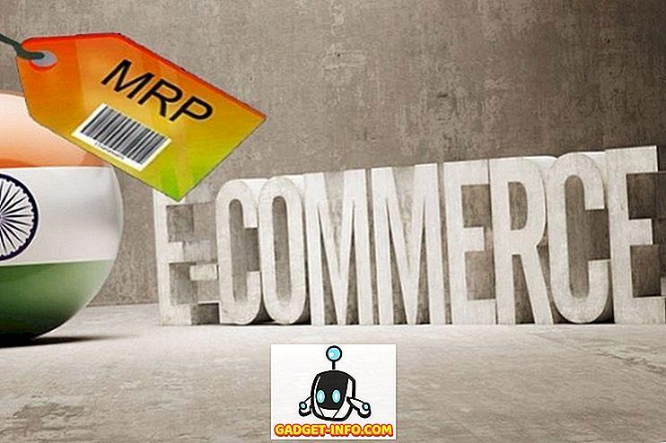 I přes rozhodnutí, E-Commerce stránky, které nejsou uvedeny MRP s produkty: Průzkum