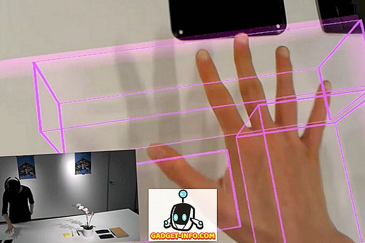 internet - Microsoftov MRTouch za mešano resničnost pretvori vsako površino v virtualni zaslon na dotik