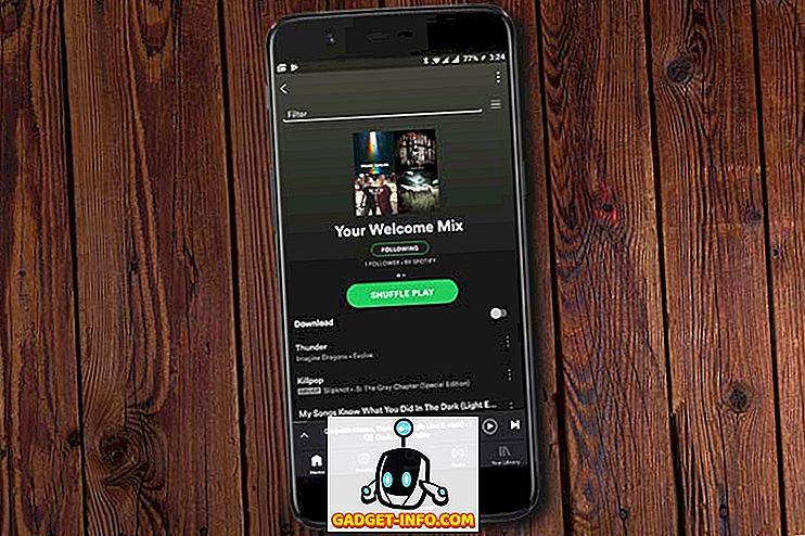 Spotify's Welcome Playlist hat mich schon verkauft