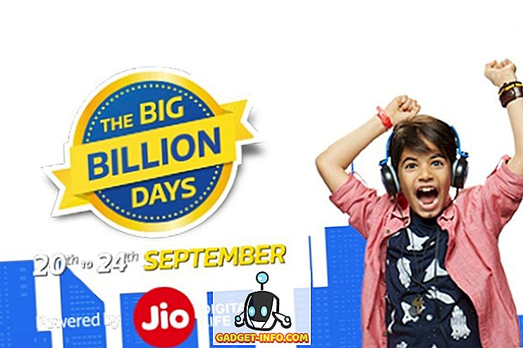 Flipkart Big Billion Days Sale: de beste technische deals voor u