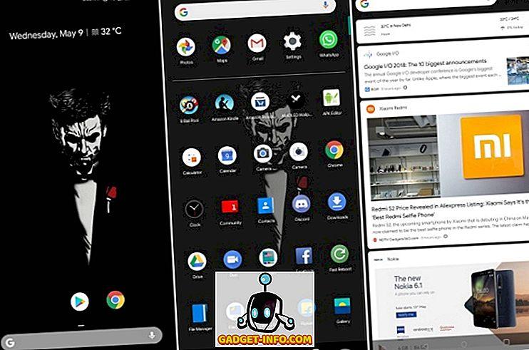 Sådan får du Android P Launcher på din Android-enhed