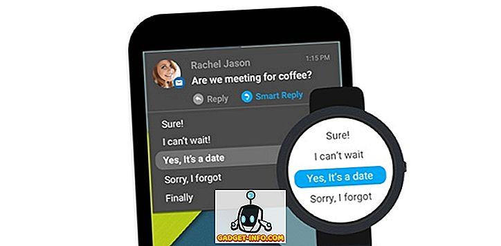 So erhalten Sie intelligente Antworten in Benachrichtigungen auf Android