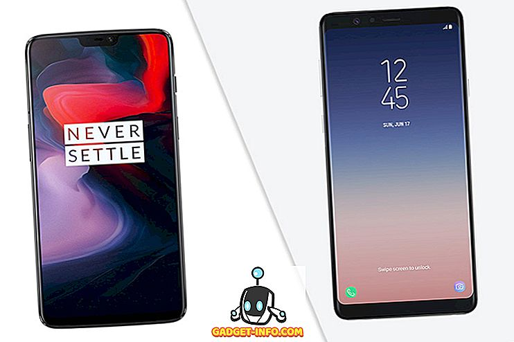 Galaxy A8 Star vs. OnePlus 6: Pika-vertailu