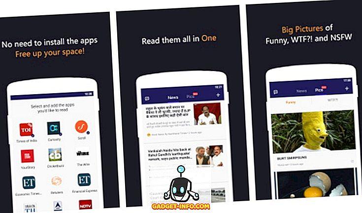 एक - Android के लिए कुछ भी पढ़ें ऐप: एक ऐप में विभिन्न समाचार स्रोत