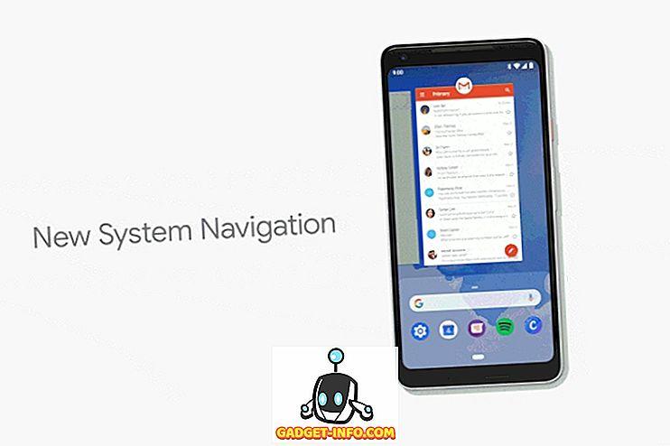 Como usar a navegação por gestos no Android P