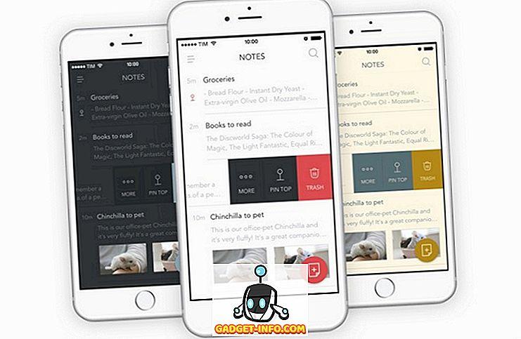 10 Best Note -sovellusta iPhonelle, jota voit käyttää