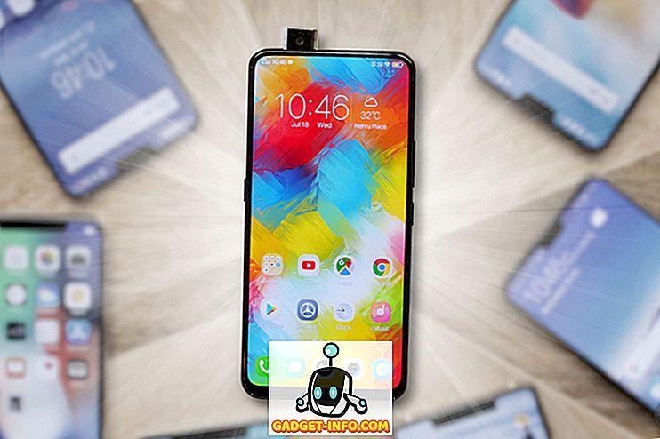 Telefon Terbaik dengan Kamera dan Slider Pop-up pada tahun 2018 - mudah alih - 2018