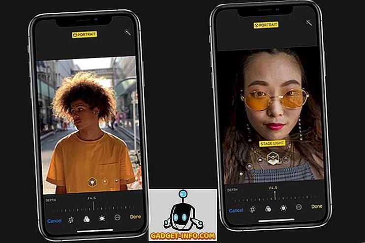 iPhone XS للحصول على التحكم في العمق أثناء النقر على الصور أيضًا