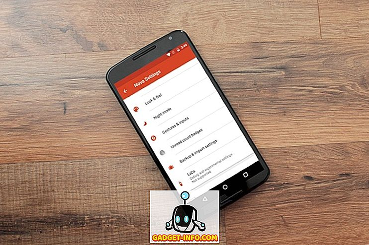 10 Cool Nova Launcher Tricks du bør vide