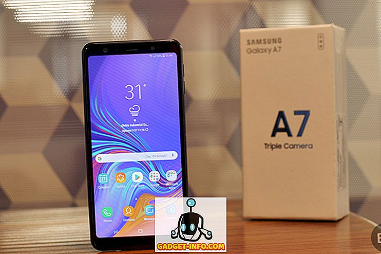 Samsung Galaxy A7 (2018): Čo je v krabici?