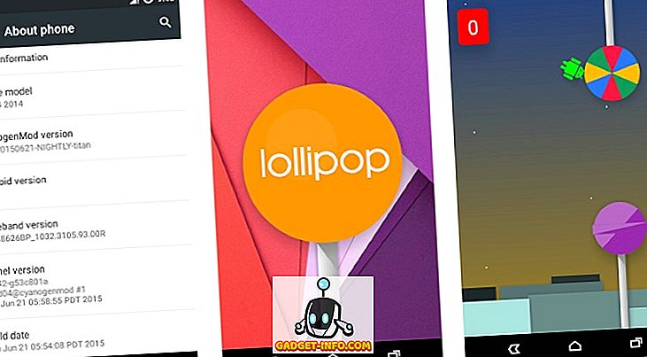 9 Android Lollipop trikke, mida peaksite teadma