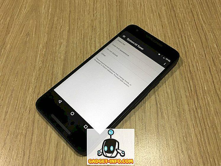 Android NでシステムUIチューナーオプションのロックを解除する方法