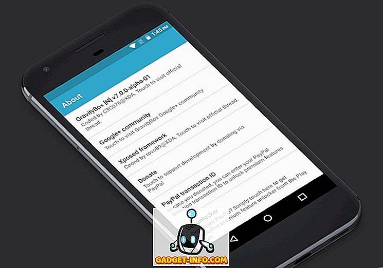 Ako nainštalovať GravityBox na Android Nougat