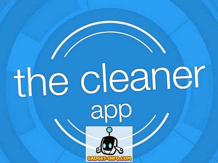 The Cleaner voor Android: versnellen uw smartphone