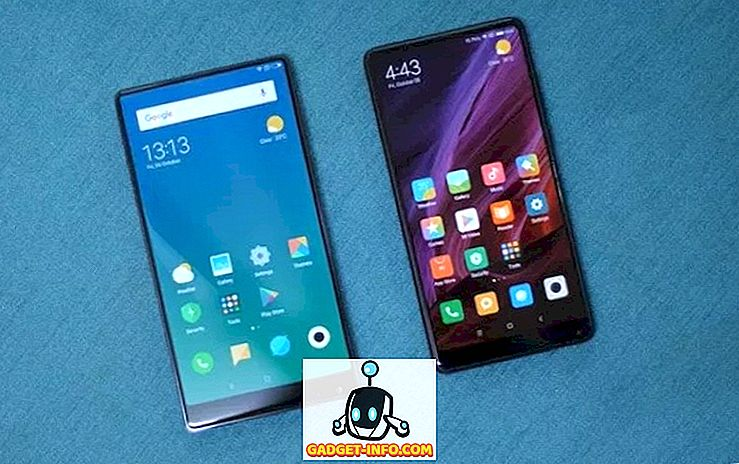 Hvordan holder Xiaomi Mi Mix 2 op mod den originale Mi Mix?