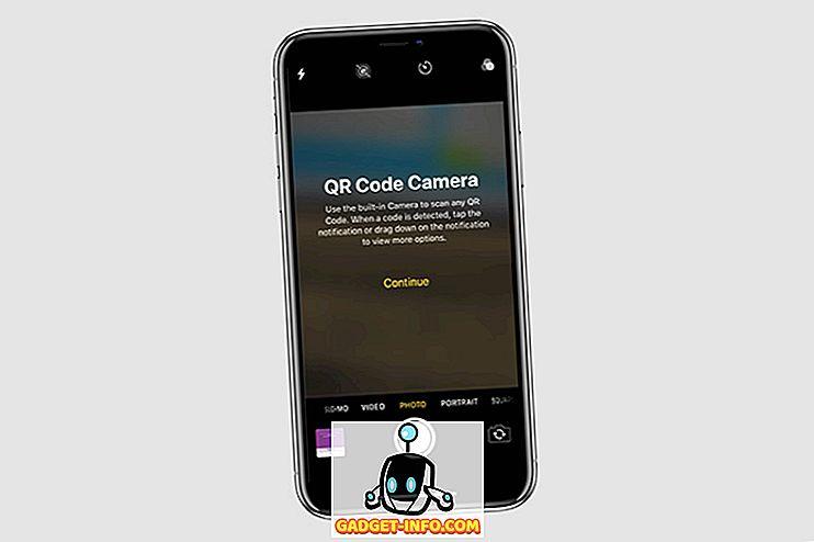 Možete izravno skenirati QR kodove iz kontrolnog centra u sustavu iOS 12