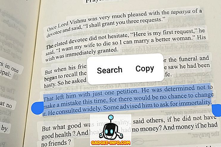 So verwenden Sie die Textauswahl in Google Lens auf Android P
