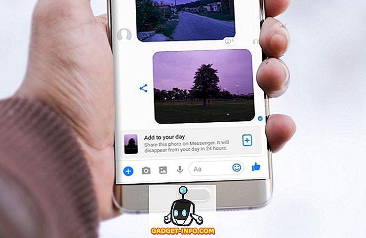 Sådan deaktiveres Facebook Messenger Day Feature på Android