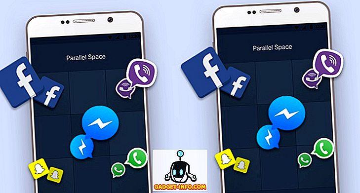 So verwenden Sie mehrere WhatsApp-, Facebook- und Snapchat-Konten für Android