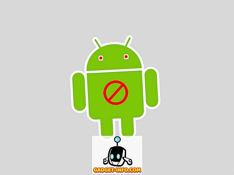 mobil: 6 grunde til at du ikke bør rod din Android-enhed