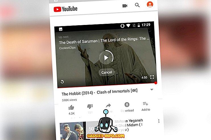 YouTube за Android получава приглушено автоматично възпроизвеждане на видеоклипове в началната емисия