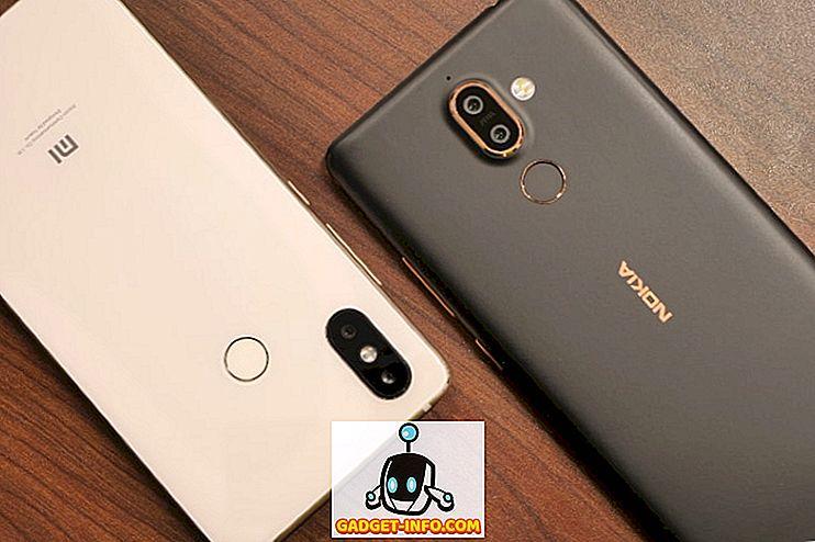 Подвижен - Mi 8 SE срещу Nokia 7 Plus: най-добрият смартфон от средния клас?