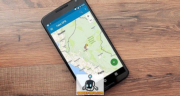 GPS hely megváltoztatása vagy hamisítása az Androidon