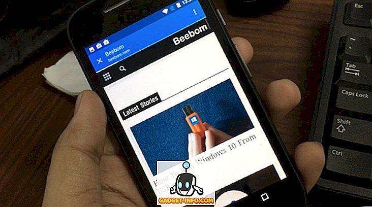 Chromer für Android: Öffnen Sie Links in Chrome, ohne Apps zu verlassen