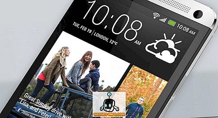 Wie erhalte ich das HTC BlinkFeed auf einem beliebigen Android-Gerät?