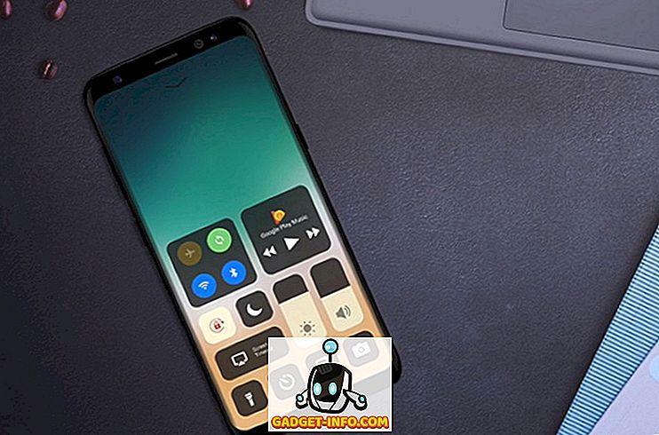 So erhalten Sie iOS 11 Like Control Center auf einem beliebigen Android-Gerät