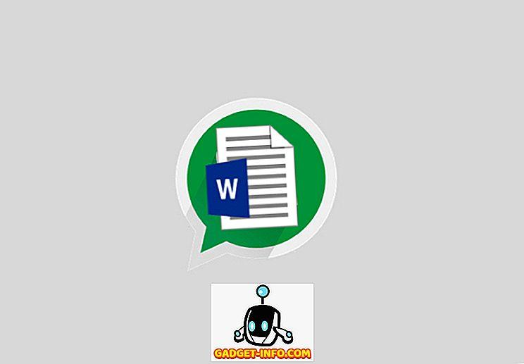mobil - Sådan sendes ethvert dokument via WhatsApp (andet end PDF)