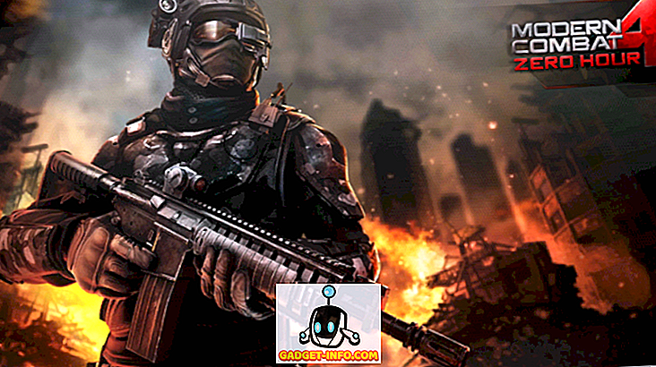 Modern Combat 4 Zero Hour: A Must Have Action Ha imballato il gioco FPS su DROID
