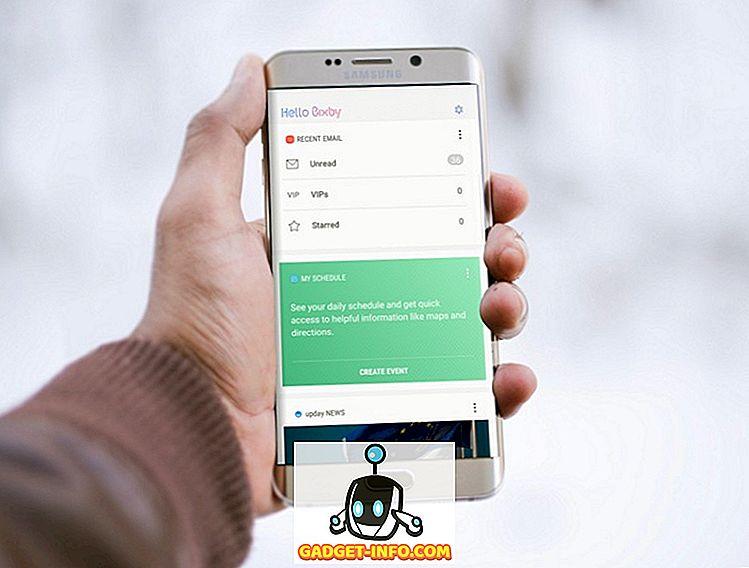 mobil: Hur får man Bixby på någon Samsung-enhet som kör Nougat