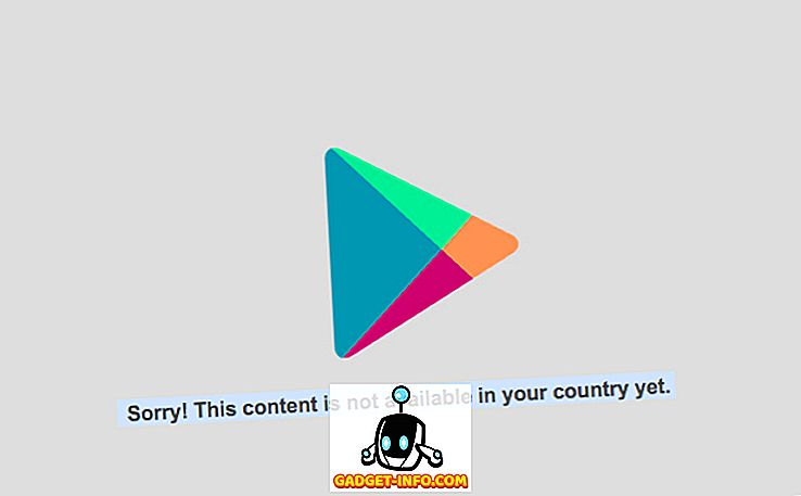 Kuidas teie riigis ei saa installida Android-rakendusi