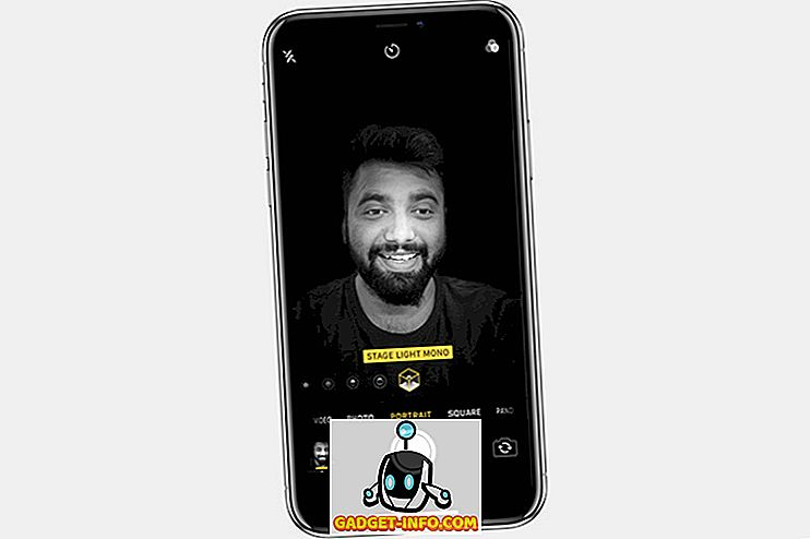 iPhone XS носи Live Преглед за Портрет осветление Ефекти в камерата App